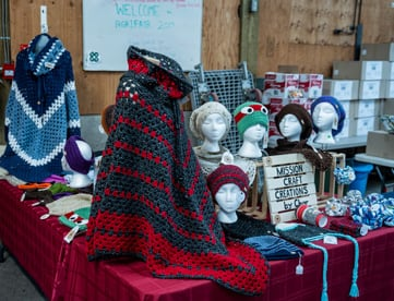 Crafts & homemade products at Abbotsford Flea Market